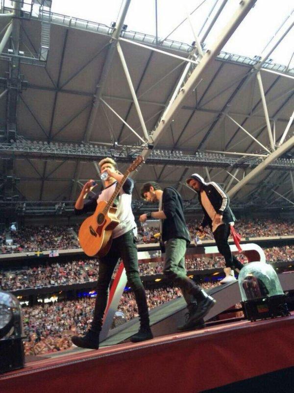 La suit des photos du concert a Stockholm