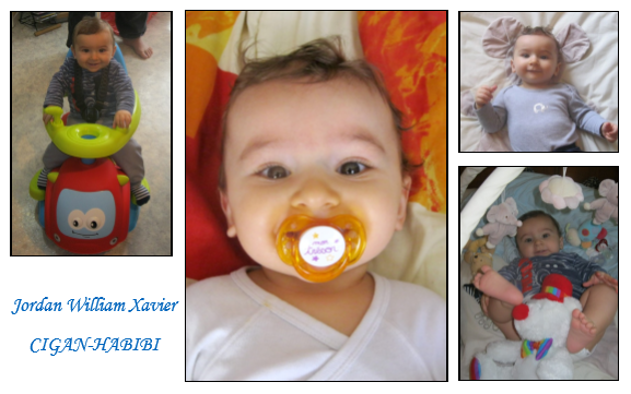 Jordan mon trésor, mon amour, notre enfant.... !