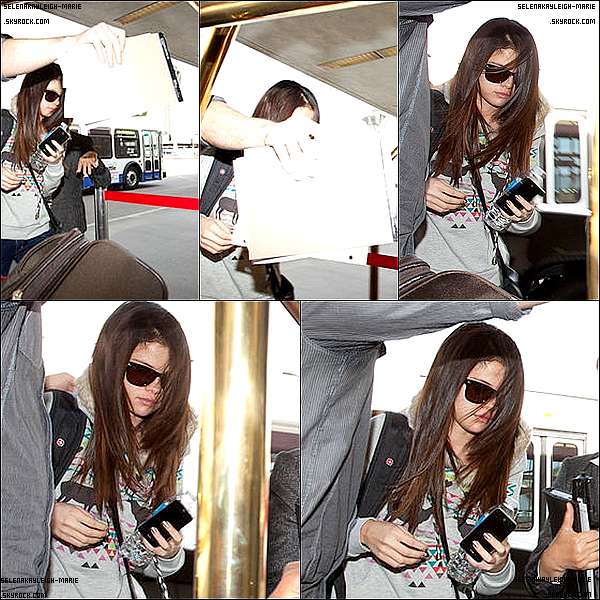 02/12/11 Selena, a donner un concert a Sacramento , Los Angeles. Top ou Flop ? De plus, des photos de son arrivée a L'aéroport de L.A.X !