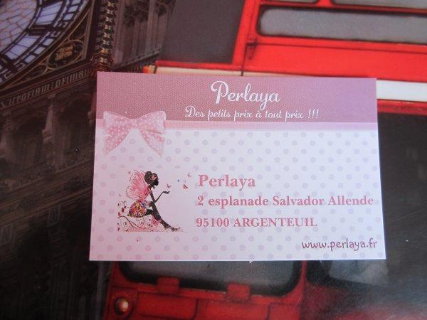 Commande chez Perlaya