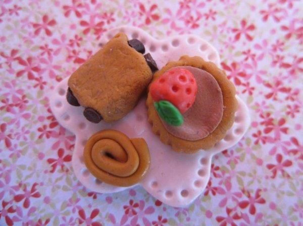 Aiment Assiette de miniatures