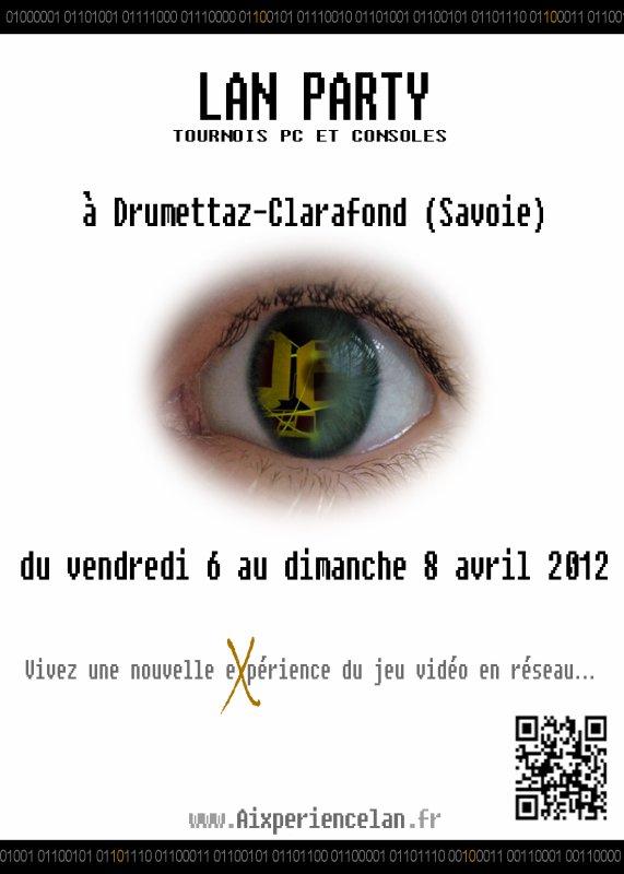Aixperiencelan revient les 6, 7 & 8 avril 2012