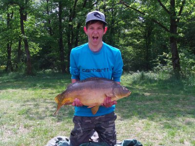 Journée de pêche avec Léo