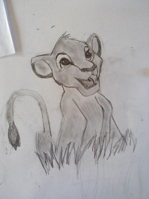 Le roi lion Simba <3