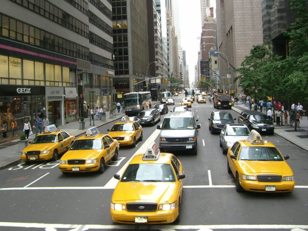 The yellow cabs make things right !