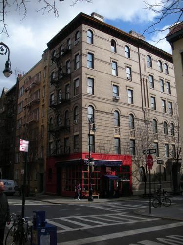 Immeuble de Joey dans Friends.