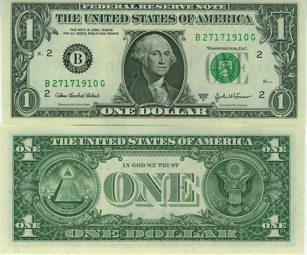 Le dollar.