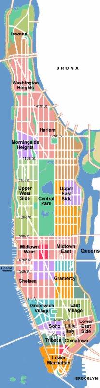 Plan de Manhattan.