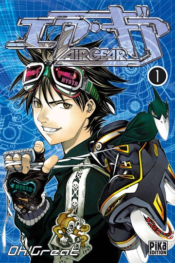 Découverte d'un manga #2 : Air Gear