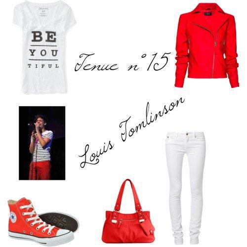 """Tenue n°15 """"Louis Tomlinson"""""""