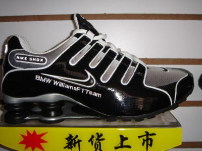 bf049fc9388b SHOX BMW WILLIAMS F1 TEAM NOIR - niketnbizness