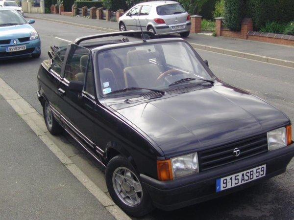 ma première voiture un talbot samba cabriolet