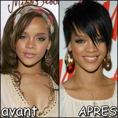 Rihanna avant apres - Rihanna avant apres ...
