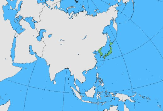Tchitrec du Japon