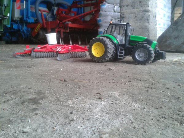 passage des disque pour semie 15has blé