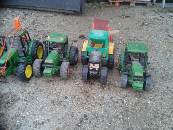 Mes tracteur jd