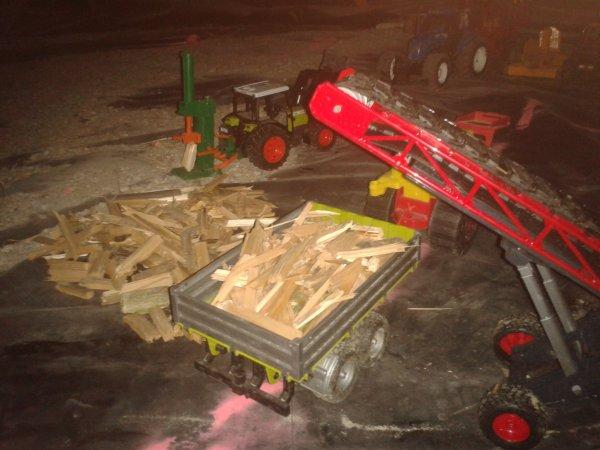 mon enteprise de bois chaufage en bruder