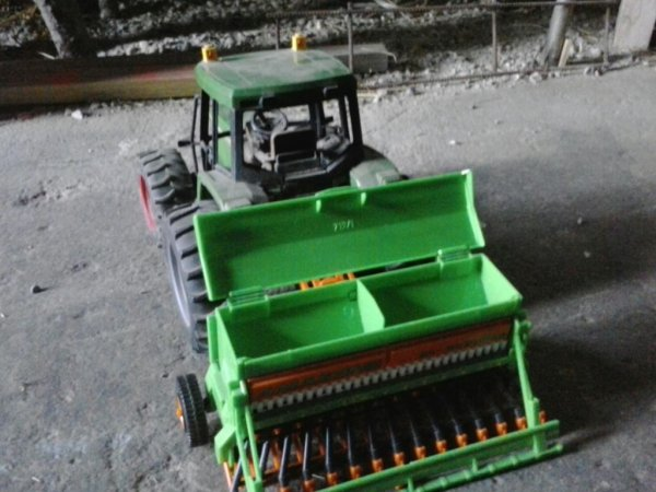 Tracteur jd 6430
