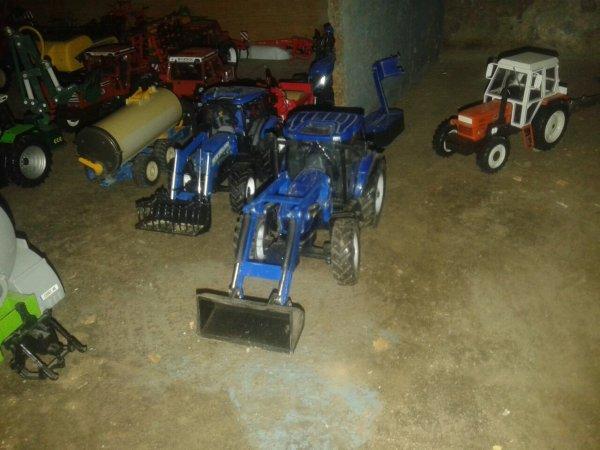 Nos 2 tracteur a fourche