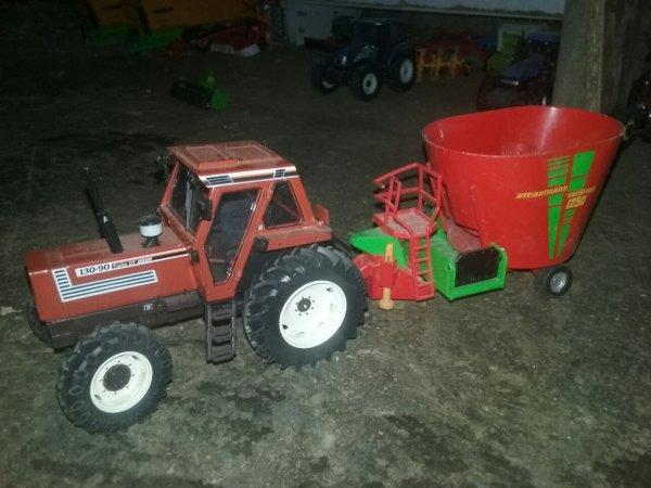Le bloc pour donne herbe