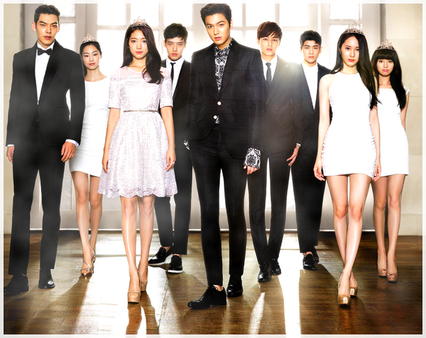 - - -    The Heirs & the weight of the Crown.- - -