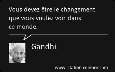 Le changement.....