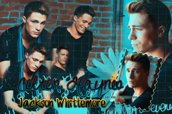 Colton Haynes alias Jackson Whittemore  Créa by ஐ