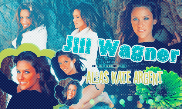 Jill Wagner alias Kate Argent Créa by ஐ