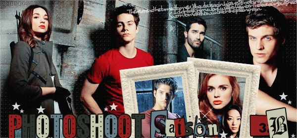 Photoshoot : Teen Wolf Promotionnelle saison 3B  Créa by ஐ