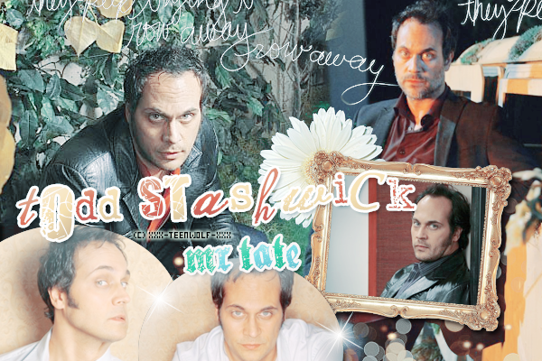 Todd Stashwick alias Mr Tate Créa by ஐ