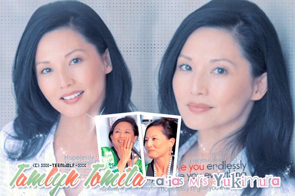 Tamlyn Tomita Alias Mrs. Yukimura  Créa by ஐ