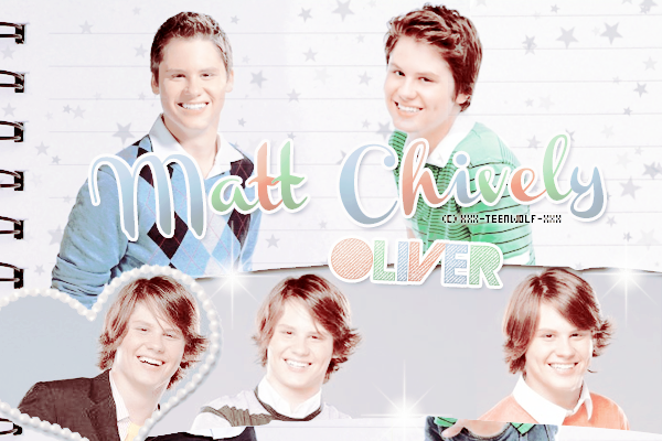 Matt Shively Alias Oliver  Créa by ஐ