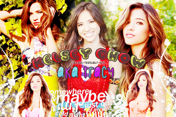 Kelsey Chow alias Tracy  Créa by ஐ