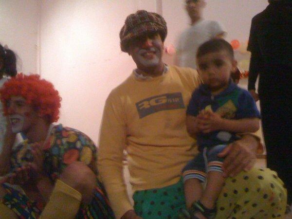 samedi 29 juin 2013 11:22 momo et le clown