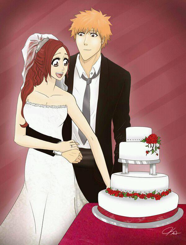 Ichigo orihime mariage 1