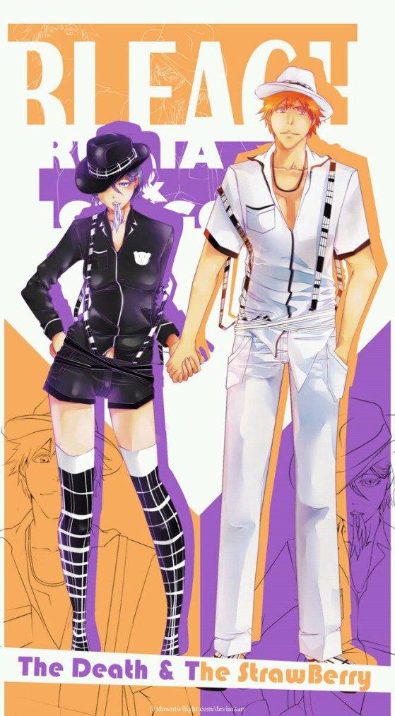 Ichigo rukia chic