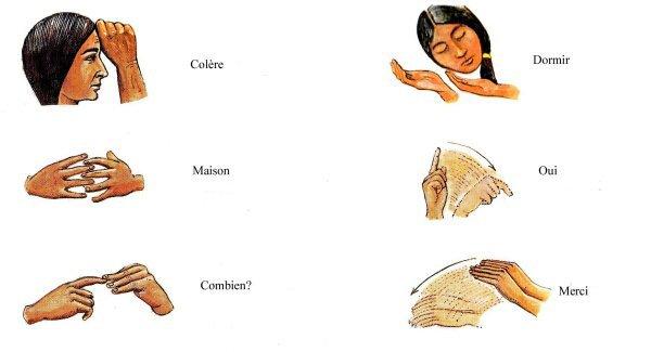 Célèbre le langage des signes des indiens des plaines - WICASA SIOTANTKA  FE86