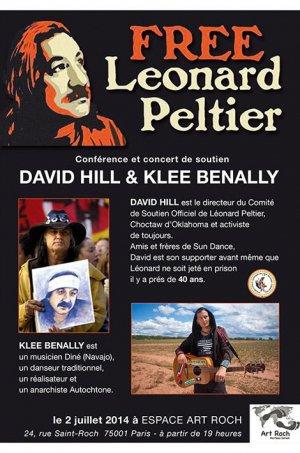 Leonard Peltier, symbole du combat des Amérindiens