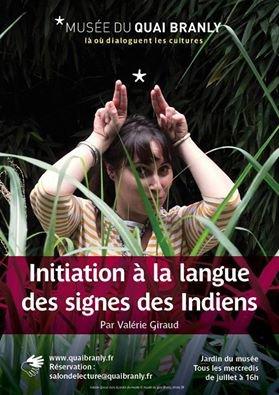 LANGUE DES SIGNES DES INDIENS DES PLAINES