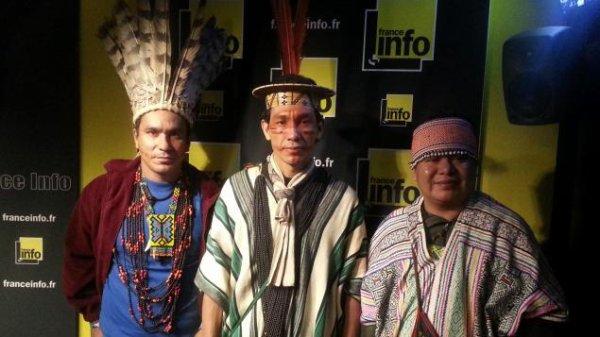 Déforestation : trois chefs indiens à Paris pour médiatiser leur lutte
