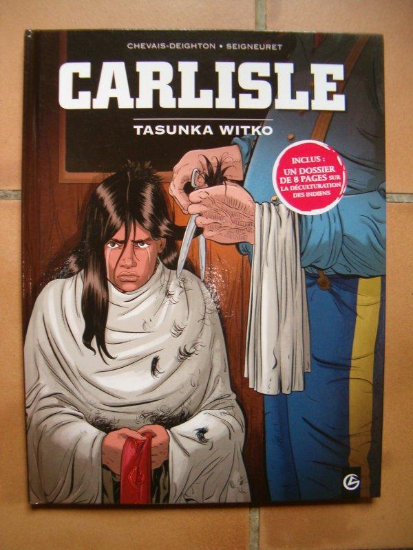 BANDE DESSINEE CARLISLE