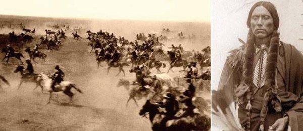 22 avril 1889. 50 000 fermiers blancs s'approprient une réserve indienne de l'Oklahoma.