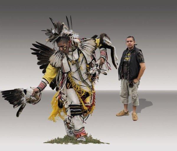 Canada: fier d'être un Indien