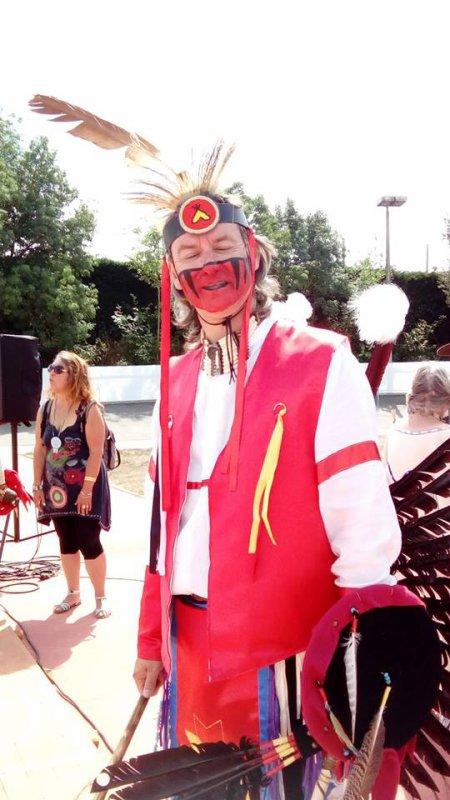 Animation amérindienne par le groupe MAKAH WACIPI au festival country en retz 2015 à ST VIAUD 6