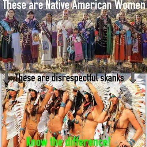 voici des femmes natives américaines
