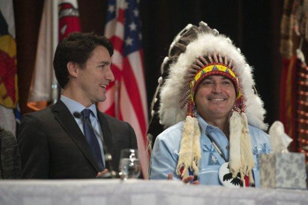 Justin Trudeau veut être le «partenaire» des autochtones