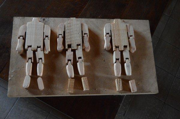 FABRICATION DE GIGUEURS NATIFS (instrument de percussion traditionnel canadien) travail en cours 1