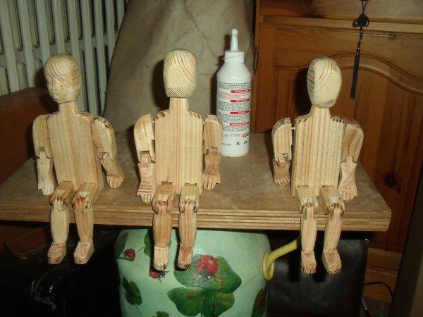 FABRICATION DE GIGUEURS NATIFS (instrument de percussion traditionnel canadien) travail en cours 2
