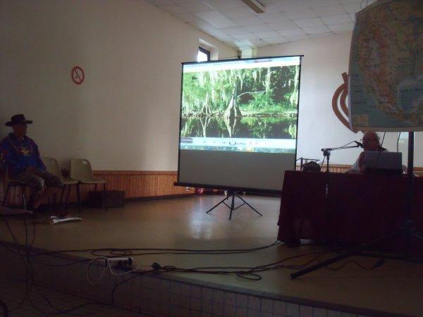 Animation amérindienne du groupe MAKAH WACIPI au festival de Grand'landes 1
