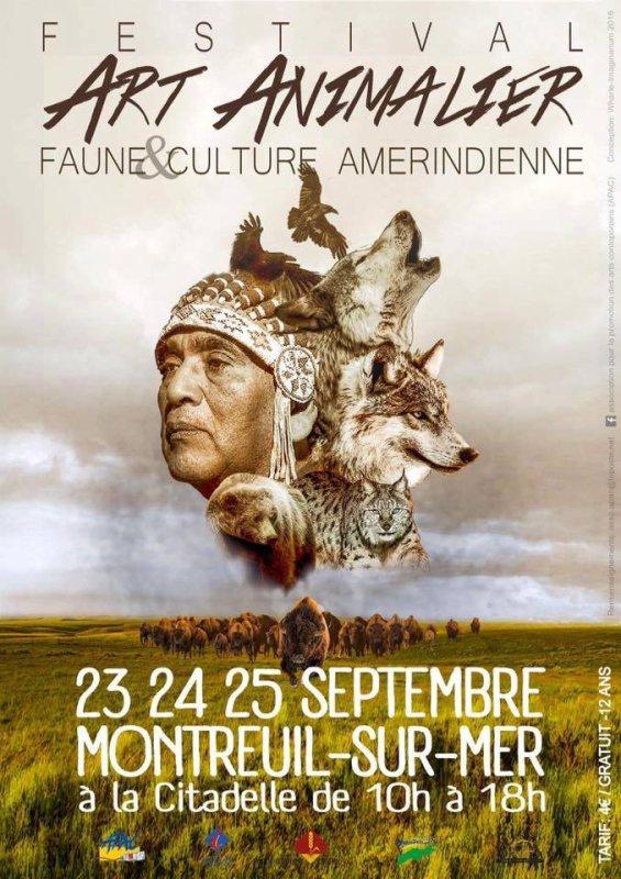 FESTIVAL ART ANIMALIER  FAUNE & CULTURE AMERINDIENNE